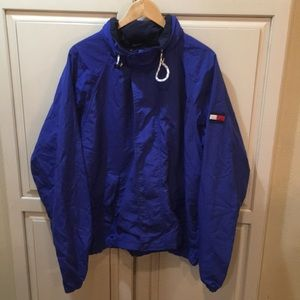Vintage 90s Tommy Hilfiger windbreaker jacket xl